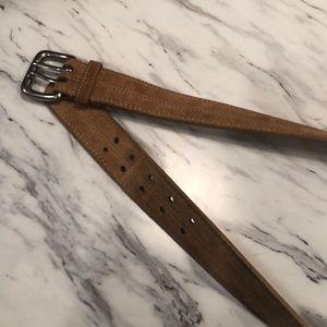 Suede Women's belt